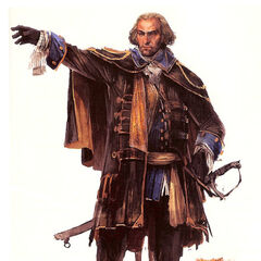 Early concept art of Charles Lee