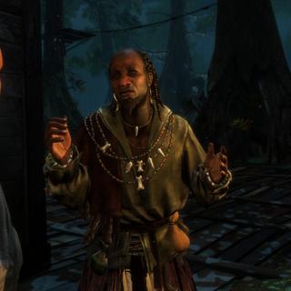埃莉斯与艾弗琳遇见巫毒教恩贡