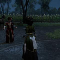 玛德琳告诉艾弗琳菲利普去世