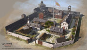 AC3L Military Barracks - Concept Art