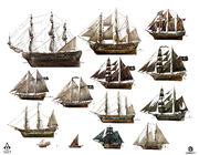 AC4 Ship Exploration - Concept Art