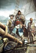 ACIV Edward Kenway Cape Brune Adewalé Jackdaw Wallpaper