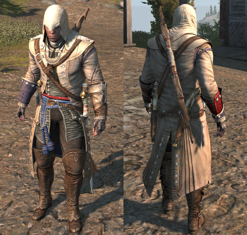Assassin S Creed Iii Outfits Assassin S Creed Wiki Fandom
