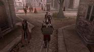 Ezio avec la tenue de Luigi