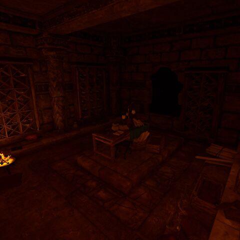 墓内的档案室