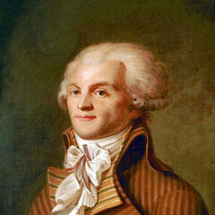 A portrait of Robespierre
