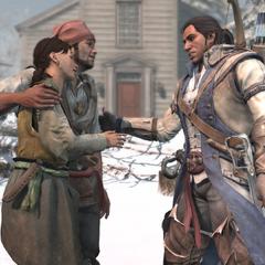 米莉安和诺里斯告诉康纳他们订婚的消息