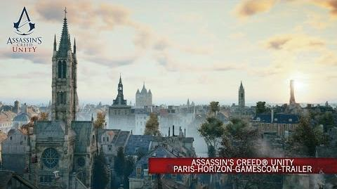 Assassin's Creed® Unity Paris-Horizon-gamescom-Trailer DE