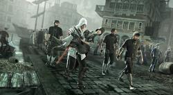 Ezio trasporta Rosa