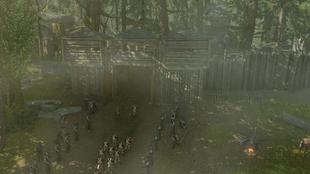 Wymarsz żołnierzy z Fortu Duquesne (by Kubar906)