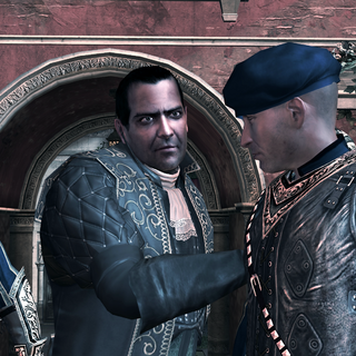 Dante Moro tentant de retrouver Ezio