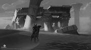ACO Ruins Concept Art 2 - Martin Deschambault