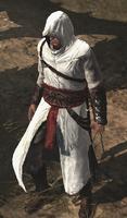 Altaïr z wysuniętym ostrzem (AC1) (by Kubar906)