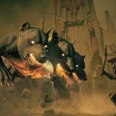 阿利克西欧斯对战地狱三头犬