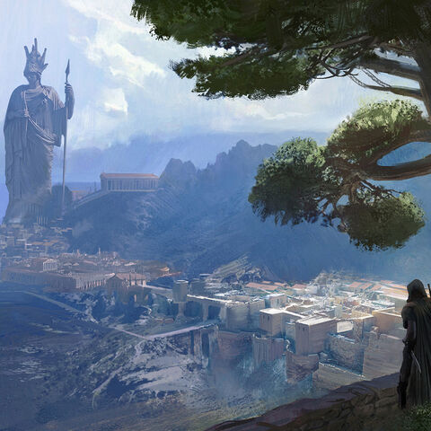 Concept art of Athens by <a class=