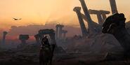 ACO Bayek Ruines Dromadaire Concept