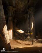 ACO Temple Ruins Concept Art 1 - Martin Deschambault