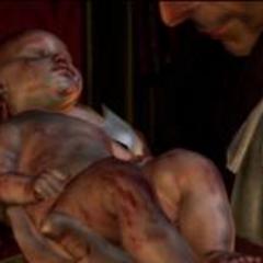 Ezio kurz nach seiner Geburt