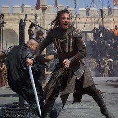 Aguilar in gevecht