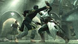 Altair combatte con la spada