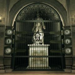 阿泰尔的雕像与阿泰尔铠甲