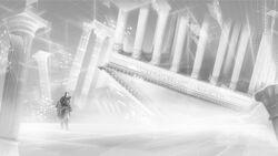 Corridoio mnemonico Ezio Pantheon concept art