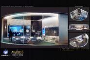 ACIV Abstergo Entertainment Salle Réunion concept