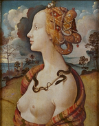Simonetta Vespucci - By Piero de Cosimo