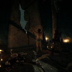 恩培多克勒在核心密室的门口