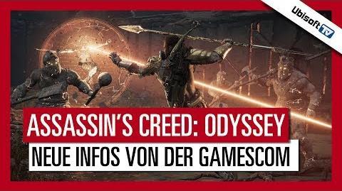 Assassin's Creed Odyssey - Neue Infos von der gamescom Ubisoft-TV DE