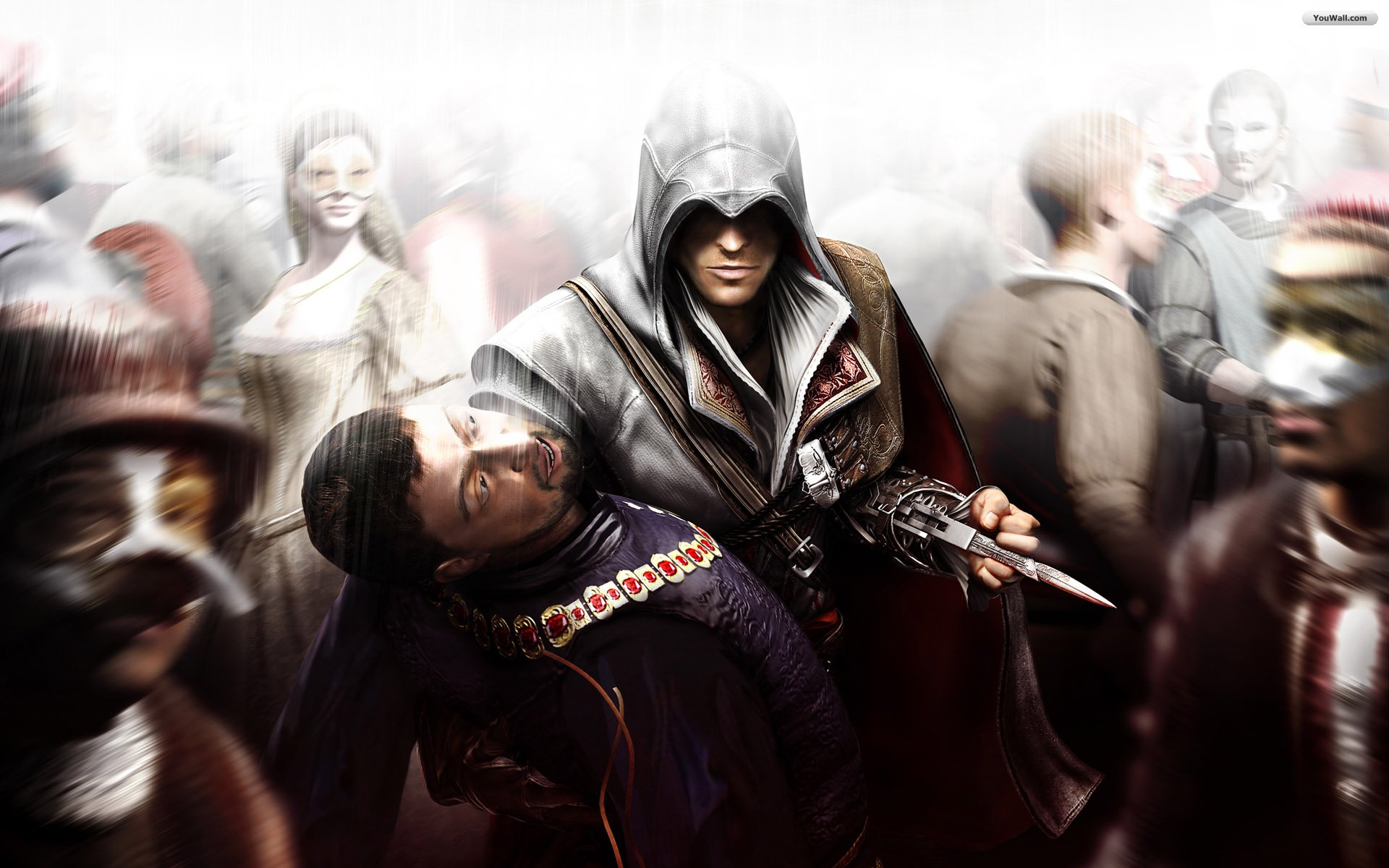 image - assassins creed brotherhood wallpaper 3c844 | assassin's