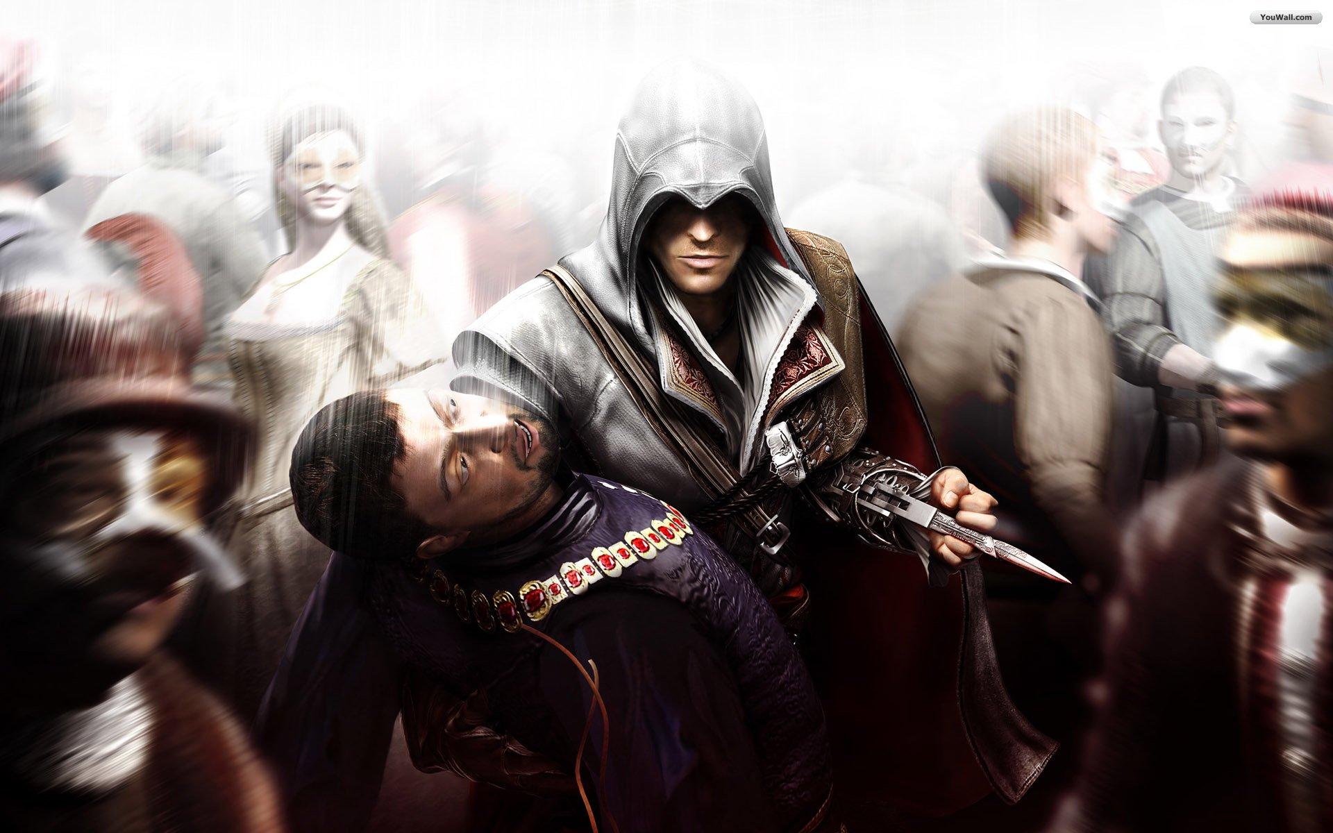image - assassins creed brotherhood wallpaper 3c844 | assassin's