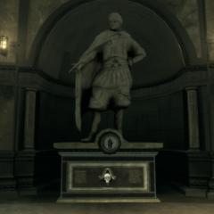大流士的雕像