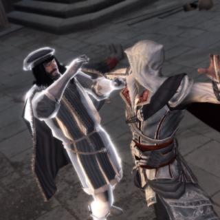 Ezio doodt Francesco.