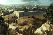 Jérusalem exterieur rampart concept