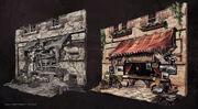 Storefront Artshop by Donglu Yu