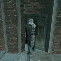 Ezio pénétrant dans Santa Maria dei Frari