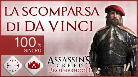 AC Brotherhood - La Scomparsa di Da Vinci + Trofei-La Scomparsa di Da Vinci (Completa al 100%)