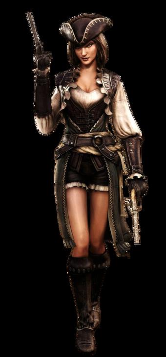 Lady Black Assassin S Creed Wiki Fandom