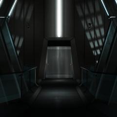 电梯访问通道