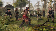 ACL Aveline combat soldats bayou
