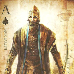 Carte de jeu à l'effigie de <b>Tarik</b>