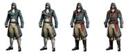 ACU Arno Costumes Variations Concept Art