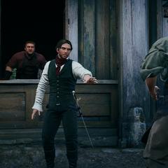 Victor et Hugo défiant Arno