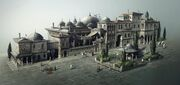 Rich district of Constantinople by Olivier Martin