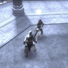 阿泰尔与玛利亚战斗