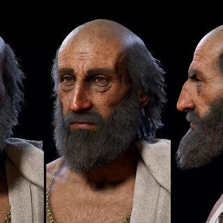 毕达哥拉斯的头部模型