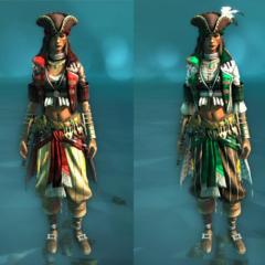 Ravager and Prestige costumes for the Rebel