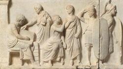 DTAE Altar of Domitius Ahenobarbus - Relief