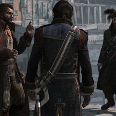 范恩告诉霍尼戈尔德和萨奇有关国王的赦免